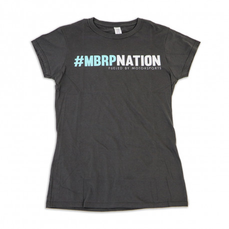 Grey & Teal Ladies T-Shirt, MBRPnation,