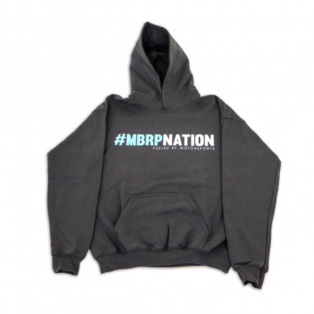 MBRPnation Grey and Teal Sweatshirt