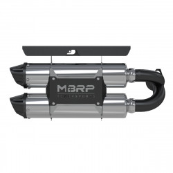 2014 RZR XP 1000 Slip-on system Dual Stack Performance Muffler