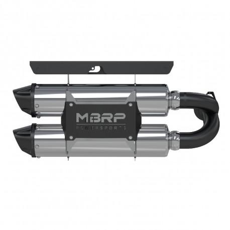 2014 RZR XP 1000 Slip-on system Dual Stack Performance Muffler