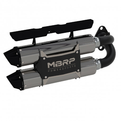 2018-2019 RZR XP 1000/ RZR RS1 Slip-on system Dual Stack Performance Muffler
