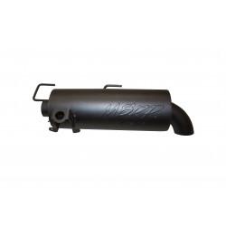 Sportsman 850SP, Slip-on system w/Performance Muffler